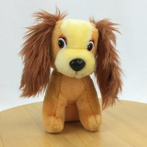 Vintage Disney Plush Lady from Lady and the Tramp